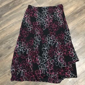 Lane Bryant Maxi Skirt Plus SZ 18/20 EUC